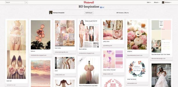 Inspiration for new brand - Pinterest